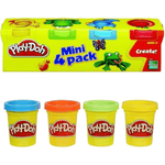 Play Doh Mini Pack X4u. Colores Surtidos