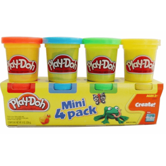 Play Doh Mini Pack X4u. Colores Surtidos - Citykids