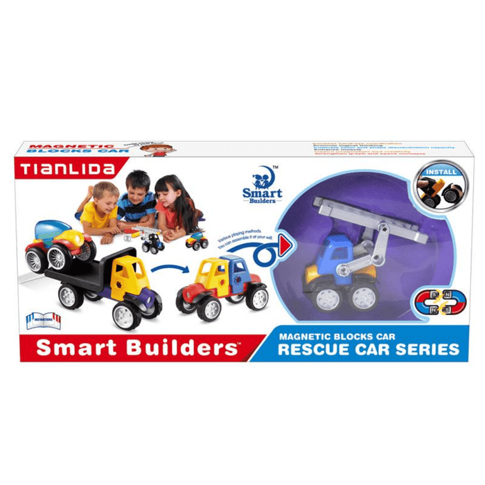 Coche Bloques Magnéticos Ck - Citykids
