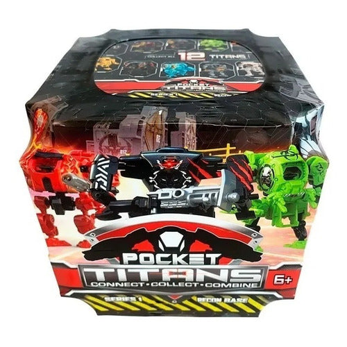 Pockets Titans Mini Titan Robot Coleccionables Shine 1888
