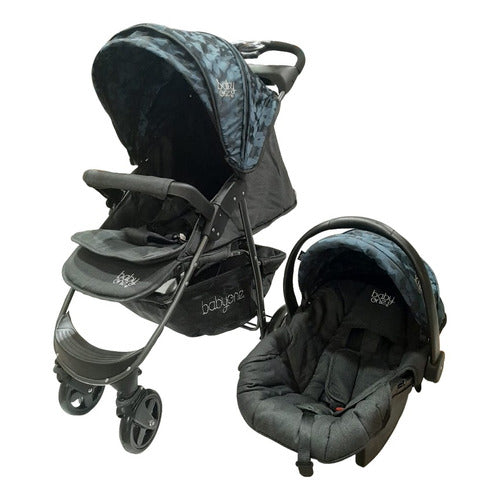 Coche Travel System Con Huevito Y Base Novo Baby One