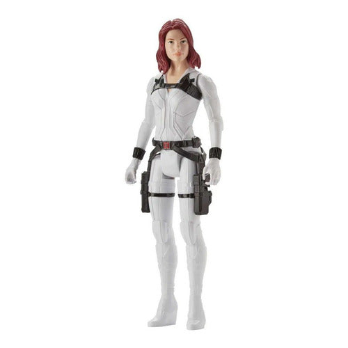 Muñeco Articulado Titan Hero Marvel Black Widow Hasbro E8675