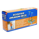 Scooter Monopatin Infantil Dragon Deck Con Luz Ik 0016