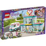 Lego Friends Hospital De Heartlake City 379 Pzs Modelo 41394