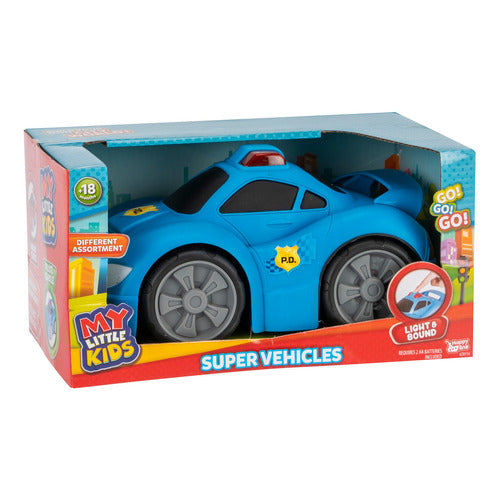 My Little Kids Super Auto Con Luz Y Sonido