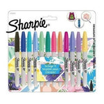 Marcadores Sharpie Tropical Punta Fina X 12 Colores + 5 Tarj