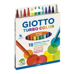 Marcadores Turbo Color X 10 Colores Giotto 040100es