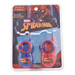 Walkie Talkie Intercomunicador Spiderman Marvel Ditoys 2222