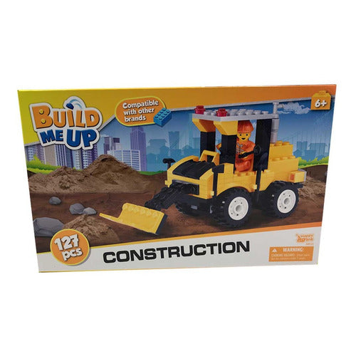 Build Me Up Construccion Pala Mecanica 127 Piezas