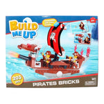 Build Me Up Set Barco Pirata 203 Piezas