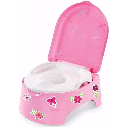 Pelela My Fun Potty Sticker Flores Y Mariposas Rosa Summer