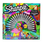 Marcadores Sharpie Ruleta Tropical X 30 U