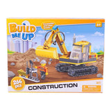 Build Me Up Construccion Set Excavadora 264 Piezas