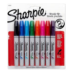 Marcador Permanente Sharpie Brush Tip Punta Pincel X 8 U