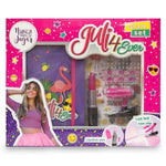 Juli4ever Glam Set Cuaderno Accesorios Y Luz Led Original