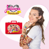 Nueva Valija Juliana Tatuajes Tattoo Original Tv
