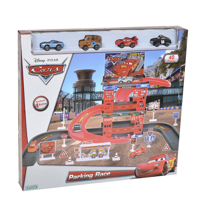 Parking Garage Race Cars - Citykids