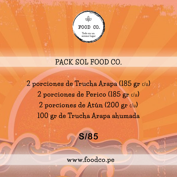 Pack SOL Food co.