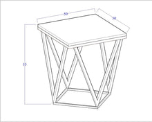 Load image into Gallery viewer, V Side Table