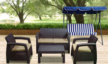 Load image into Gallery viewer, Outdoor rattan set