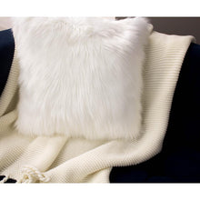 Load image into Gallery viewer, Cushion fur white (40*40 cm)