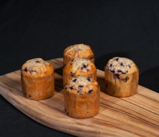 GF Muffin - Blueberry & Banana (only sold in a pack of 6)