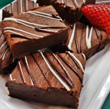 Load image into Gallery viewer, GF Chocolate Brownies (only sold by slab - 18 pcs)