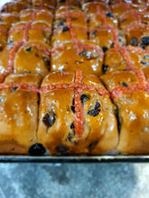 Load image into Gallery viewer, Hot Cross Bun Cherry Ripe (Easter only - Bag of 6)