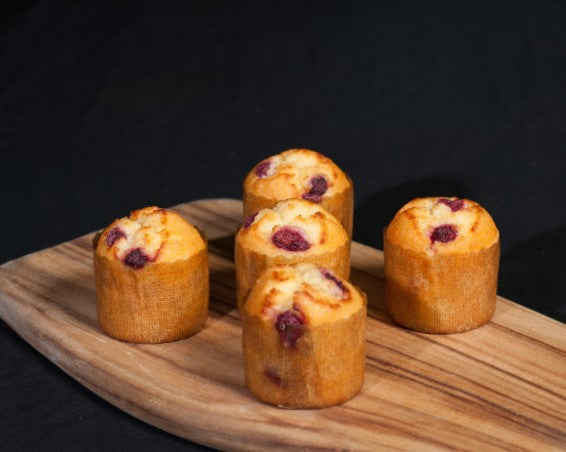GF Muffin - Coconut Raspberry (only sold in a pack of 6)