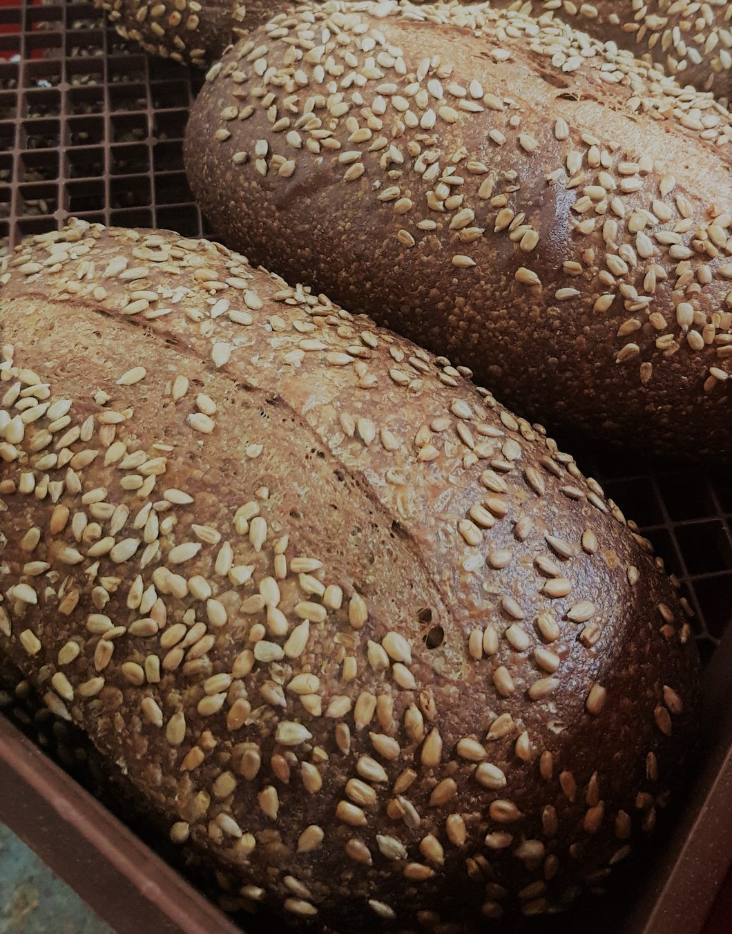 German Rye Sourdough with Sunflower Seeds 780g