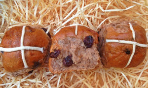 Hot Cross Buns Traditional Double Pack (12 x Buns)