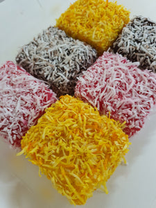 Lamington Square Mixed (BOX -6 pcs)