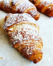 Load image into Gallery viewer, Vegan Croissant Raspberry White Chocolate
