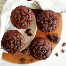 Load image into Gallery viewer, Muffins Double Chocolate (Box of 4)