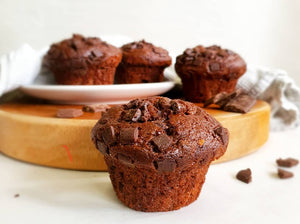 Muffins Double Chocolate (Box of 4)