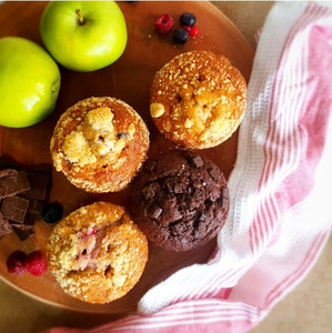Muffins Mixed Flavours (Box of 4)