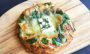 Wilted Spinach and 3 Cheese Sciachiatta (Box of 4)