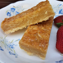 Load image into Gallery viewer, GF Almond Slice (only sold by slab - 14 pcs)