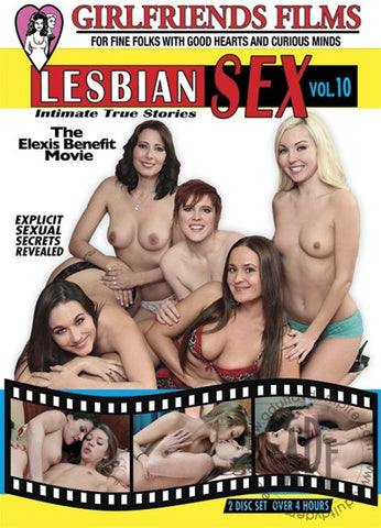 DVD - Lesbian Sex by Girlfriends Films