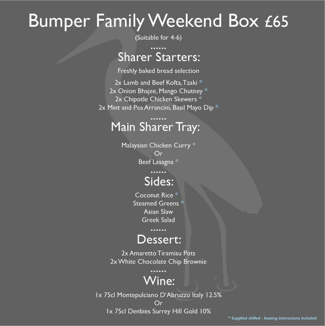 Bumper Family Weekend Box