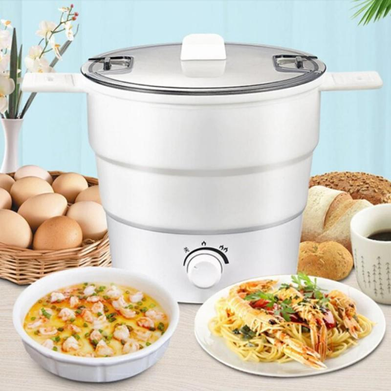 3-in-1 Foldable Electric Cooking Pot