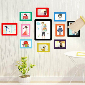 DIY Nail-free Easy Magnetic Photoframes