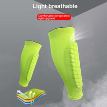 Load image into Gallery viewer, HoneyComb Anti-crash Compression Leg Sleeve