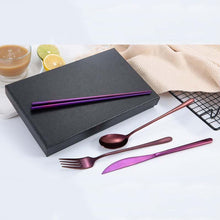Load image into Gallery viewer, KKitchen™ Stainless Steel Classy Korean Cutlery Set