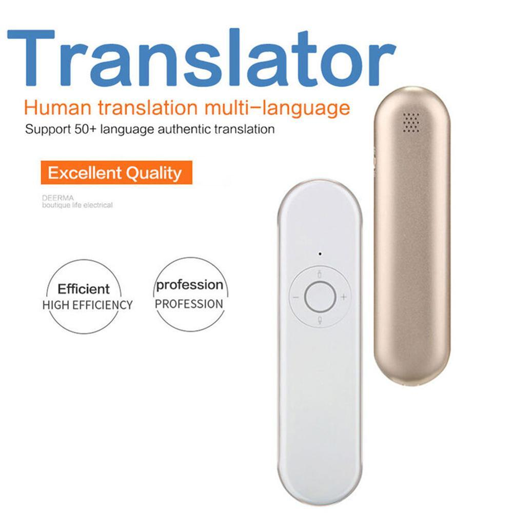 Portable Real-time Voice Language Translator