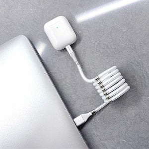 Magnetic USB Cable Bunch