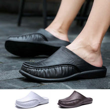 Load image into Gallery viewer, Men's PVC Leisure Comfortable Slippers - Men's Slip On Comfortable Leisure Slippers