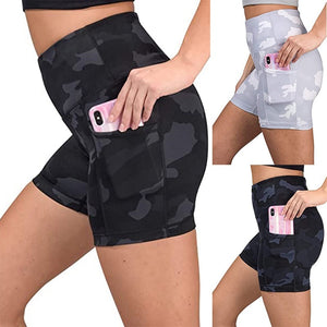 Women's Multi-function High Waist Short Tights