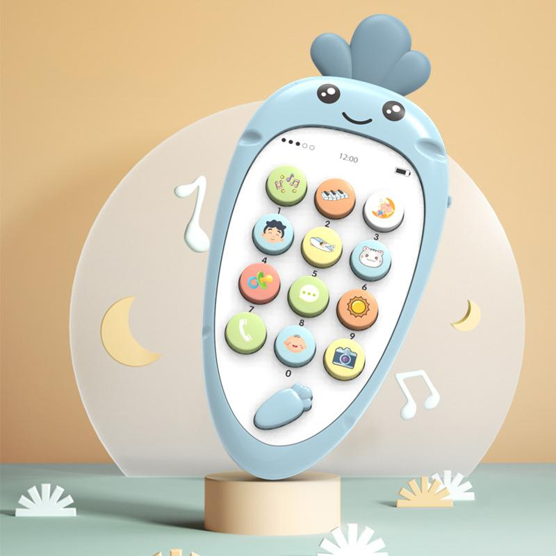 Bilingual Carrot Phone for Kids