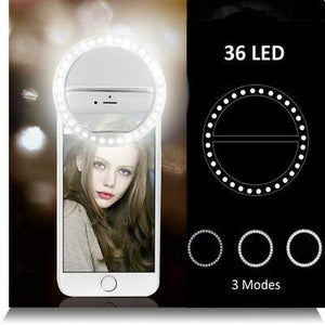 Ring Lighting Phone Attachment